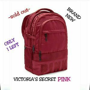 NEW VICTORIA'S SECRET PINK COLLEGIATE BACKPACK